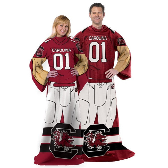 South Carolina Gamecocks Unisex Adult Comfy Throw - Sports Fans Plus