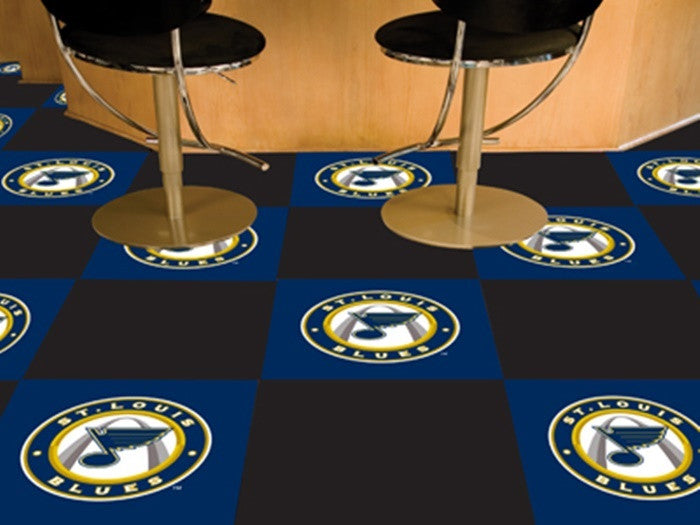 St. Louis Blues NHL Carpet Tiles - Sports Fans Plus  - 1