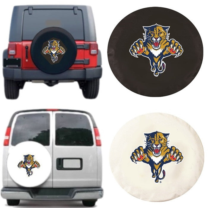 Florida Panthers NHL Exact Fit Tire Cover - Sports Fans Plus