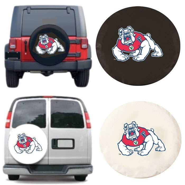 Fresno State Bulldogs Exact Fit Tire Cover - Sports Fans Plus