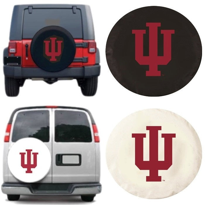 Indiana Hoosiers Exact Fit Tire Cover - Sports Fans Plus