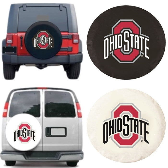 Ohio State Buckeyes Exact Fit Tire Cover - Sports Fans Plus