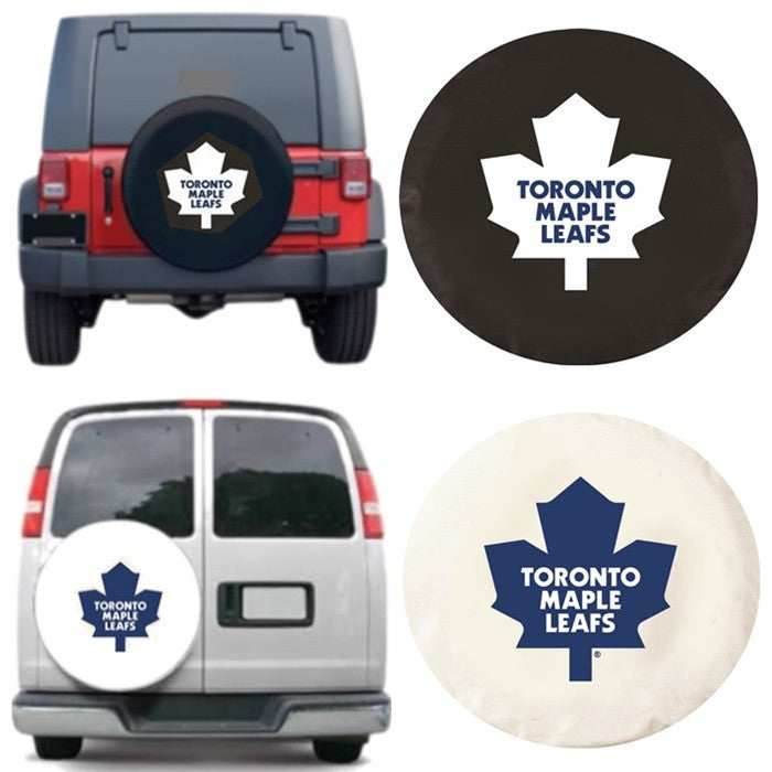 Toronto Maple Leafs NHL Spare Tire Cover - Sports Fans Plus