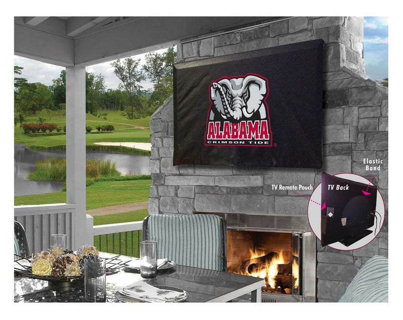 Alabama Crimson Tide Elephant TV Cover