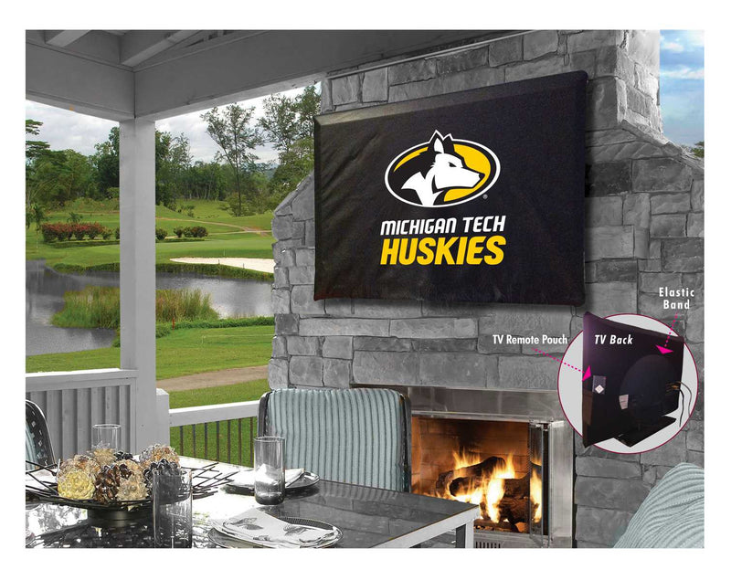 Michigan Tech Huskies TV Cover