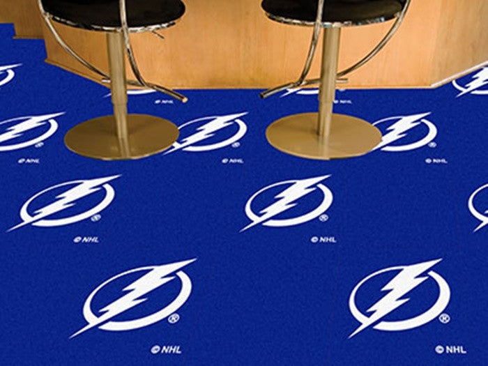 Tampa Bay Lightning NHL Carpet Tiles - Sports Fans Plus  - 1