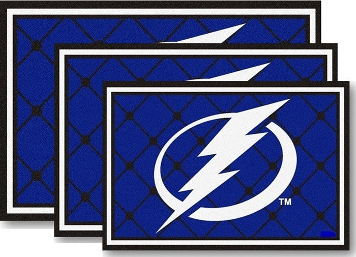 Tampa Bay Lightning NHL Area Rugs - Sports Fans Plus