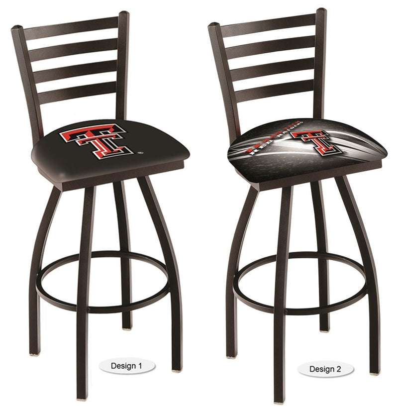 Texas Tech Red Raiders Ladder Back Bar Stool