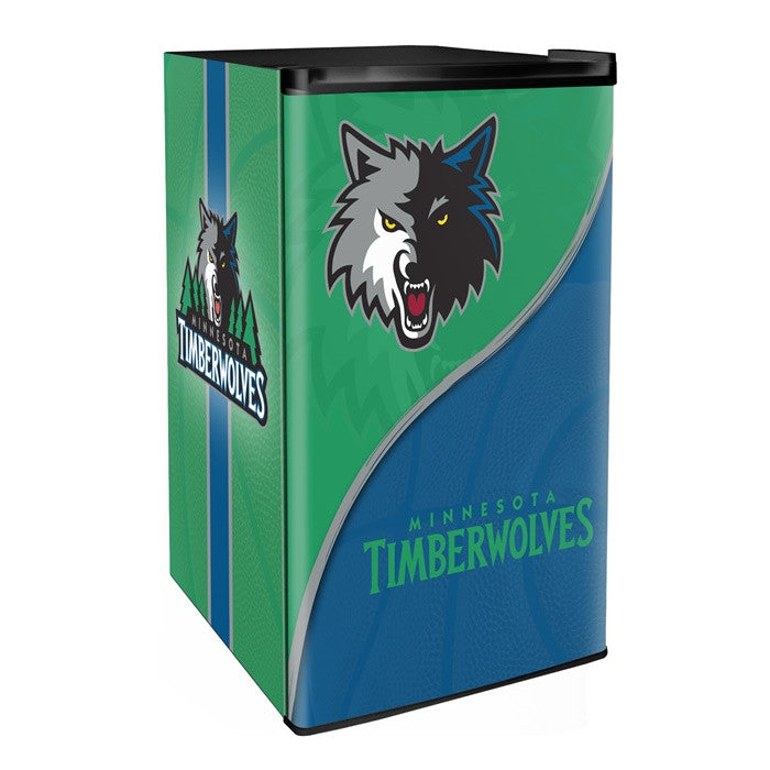 Minnesota Timberwolves NBA Primary Counter Height Refrigerator - Sports Fans Plus  - 1