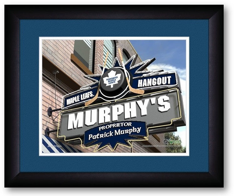 Toronto Maple Leafs NHL Personalized Pub Print - Sports Fans Plus  - 2