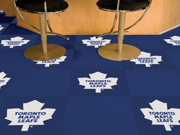 Toronto Maple Leafs NHL Carpet Tiles - Sports Fans Plus  - 1