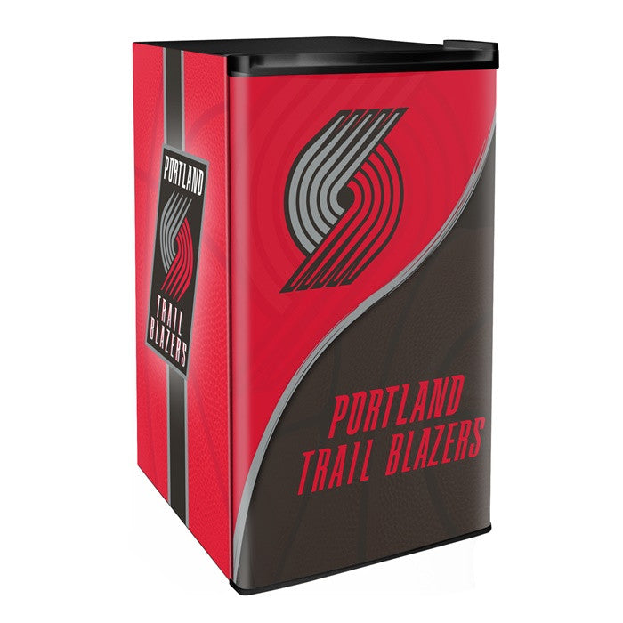 Portland Trail Blazers NBA Primary Counter Height Refrigerator - Sports Fans Plus  - 1