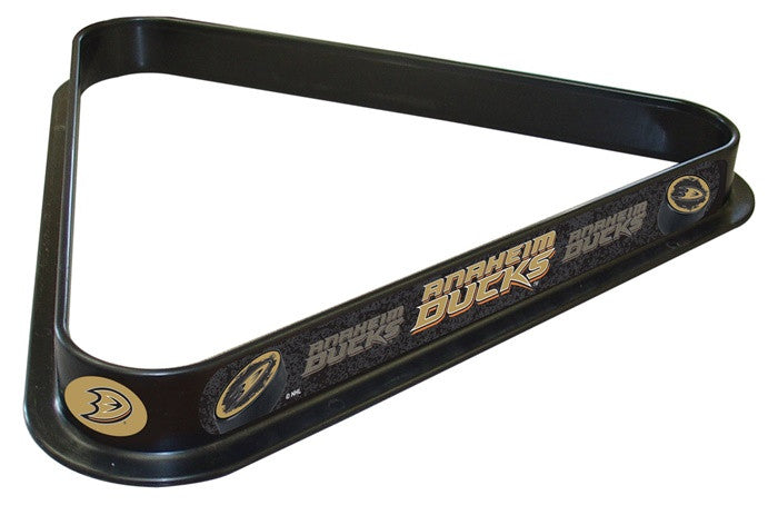 Anaheim Ducks NHL D1 Logo Billiard Triangle Rack - SportsFansPlus.com
