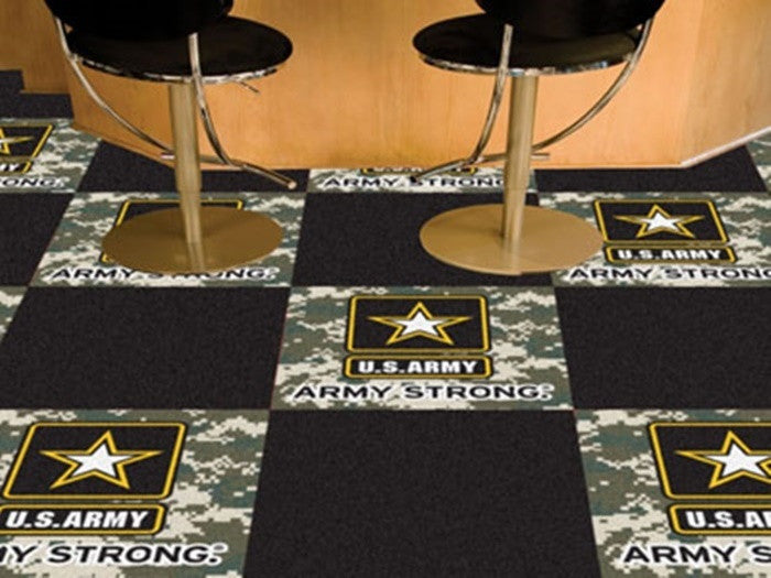 US Army Carpet Tiles - Sports Fans Plus