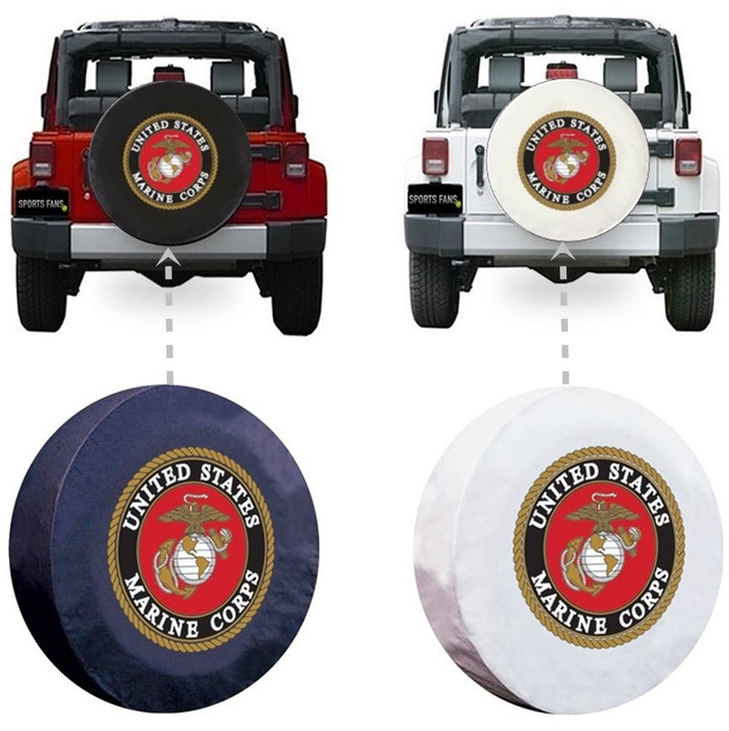 US Marine Corps Spare Tire Cover