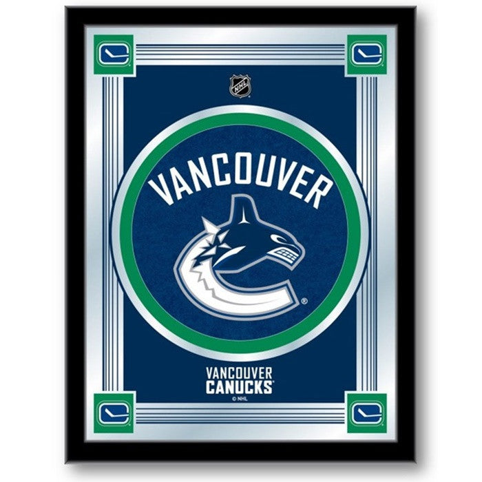 Vancouver Canucks NHL Logo Mirror