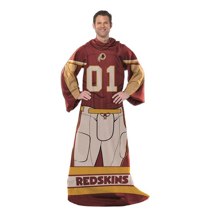 Washington Redskins NFL Unisex Adult Comfy Throw - Sports Fans Plus
