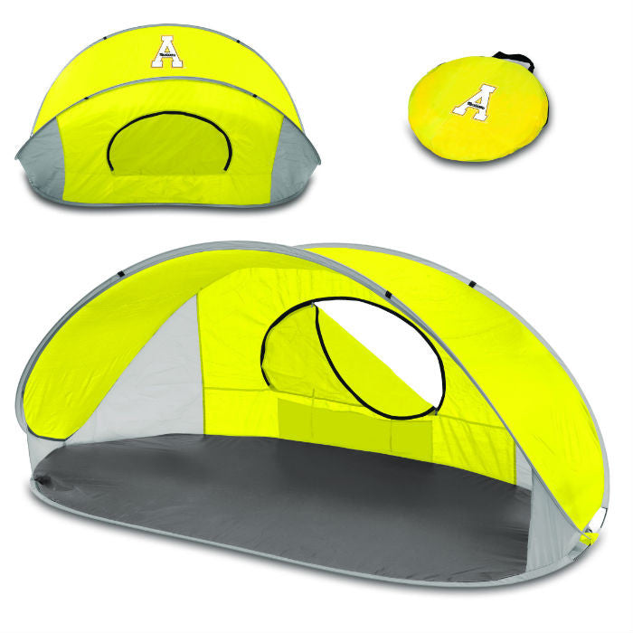 Appalachian State Mountaineers Yellow Manta Sun Shelter - Sports Fans Plus
