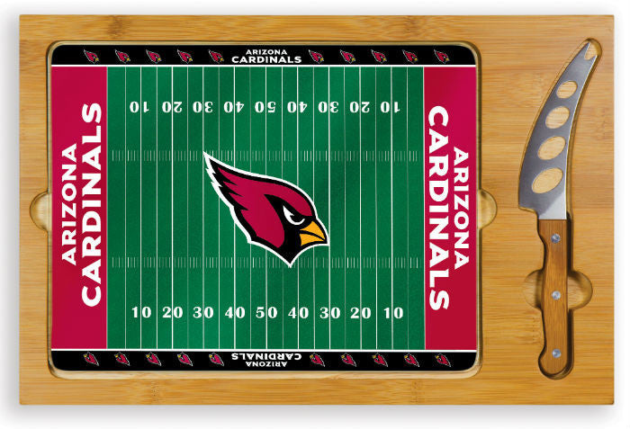 Arizona Cardinals NFL Icon Cheese Board - Sports Fans Plus