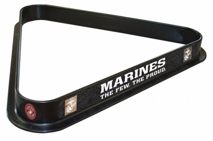 US Marine Corps Logo Billiard Triangle Rack - Sports Fans Plus