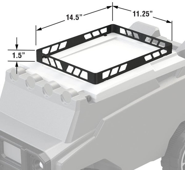 RC Rover Cooler Optional Roof Rack