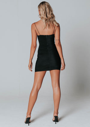 Vixen Mini Dress - Black