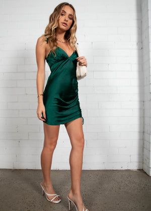 Party Girl Dress - Emerald