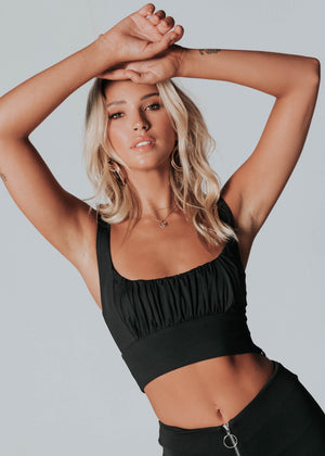 Dakota Crop - Black