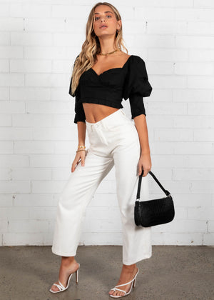 Brixton Crop - Black
