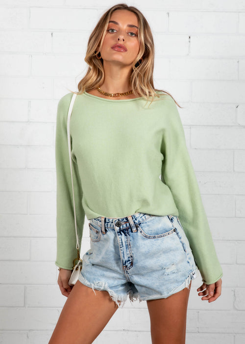 Rapture Sweater - Mint