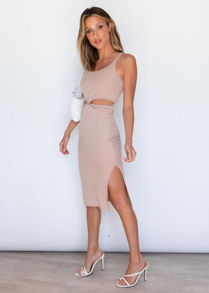 Bianca Dress - Camel