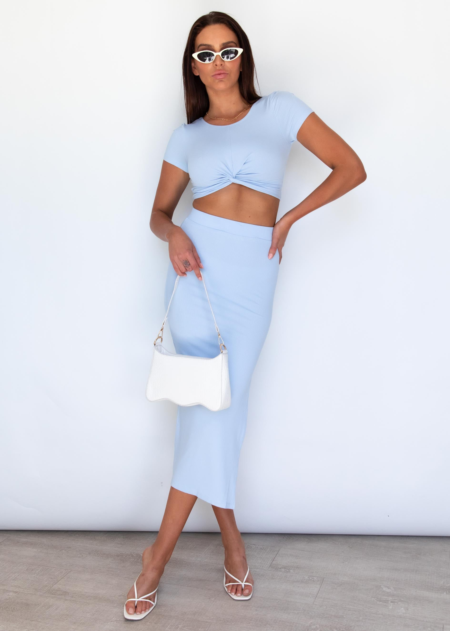 Penelope Skirt - Blue
