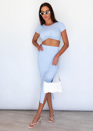 Penelope Crop - Blue