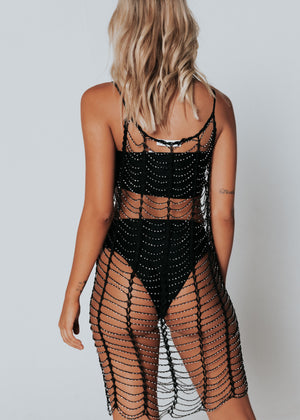 After Midnight Mini Dress - Black