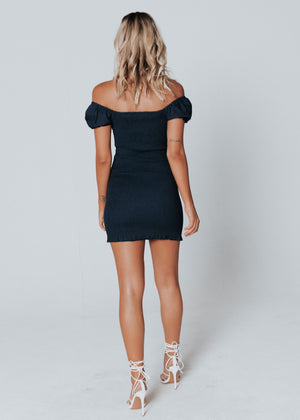 Cha Cha Mini Dress - Navy
