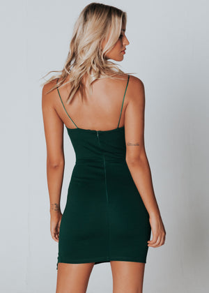 Endless Love Mini Dress - Emerald