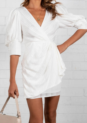 Bryn Dress - White