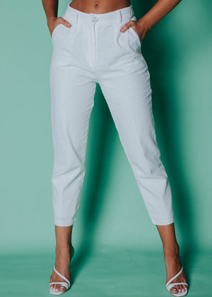 Ada Pants - White