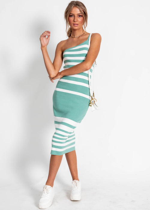 Zali Knit Dress - Mint