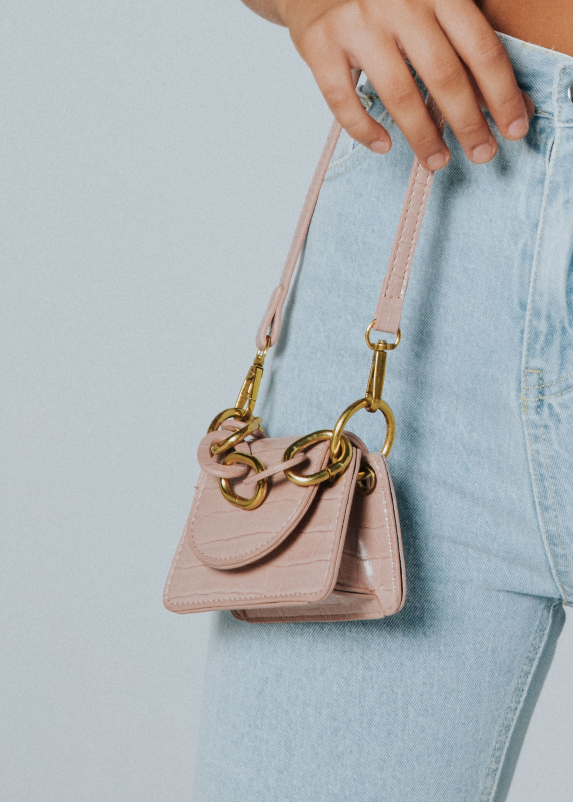 Coco Mini Bag - Blush