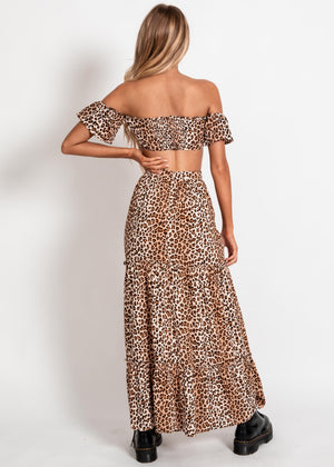 Chelsea Crop Top - Leopard