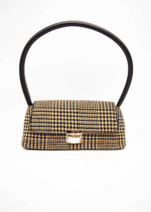 Tahlia Bag - Tan/Black