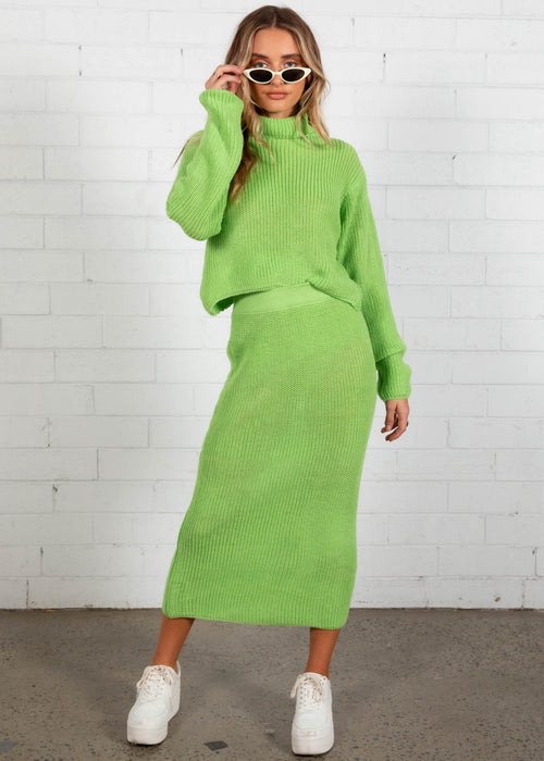 Knox Knit Set - Green