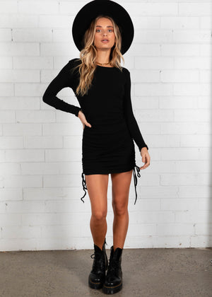 Chichi Mini Dress - Black
