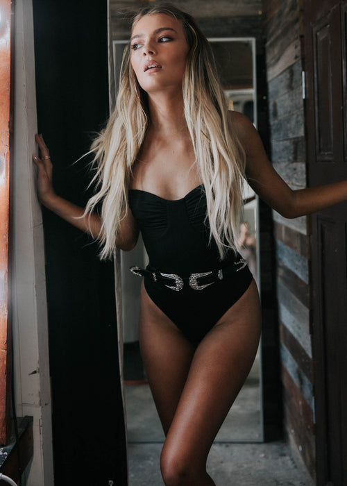 Lover Bodysuit - Black