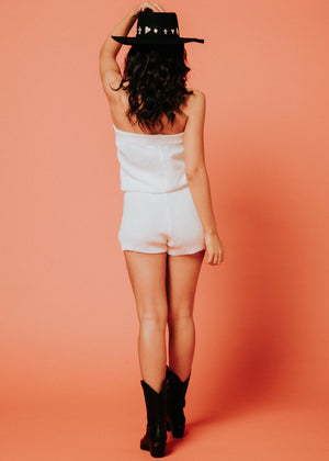 Vacation Playsuit - Cream