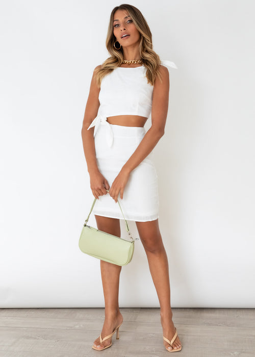 Loveless Dress - White
