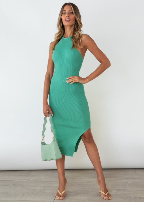 Voodoo Love Midi Dress - Jade