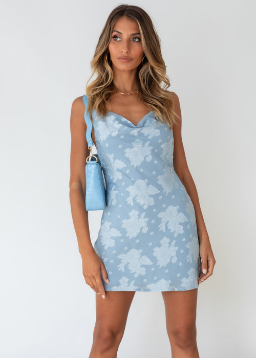 Maxfield Dress - Baby Blue