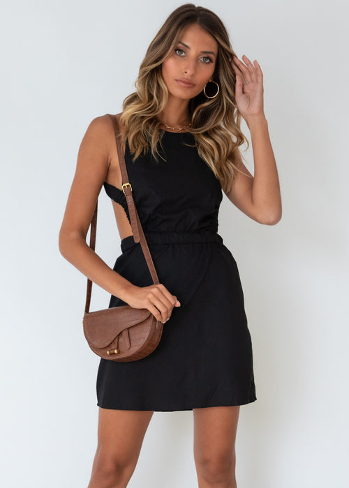 In Bloom Dress - Black